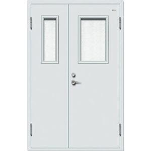 cửa chống cháy fz6000 trắng 01