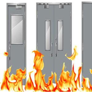 cách vệ sinh cửa chống cháy