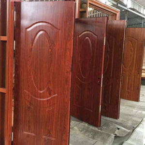 cửa thép vân gỗ hải phòng