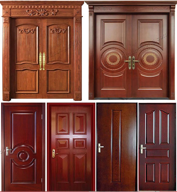 lắp cửa thép vân gỗ tại hải phòng