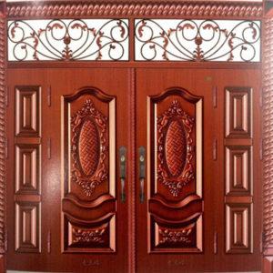 lắp đặt cửa thép vân gỗ hải phòng