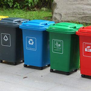 Thùng rác nhựa HDPE và thùng rác composite